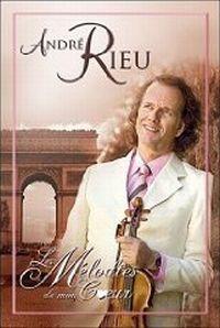 Cover André Rieu - Les mélodies de mon cœur [DVD]